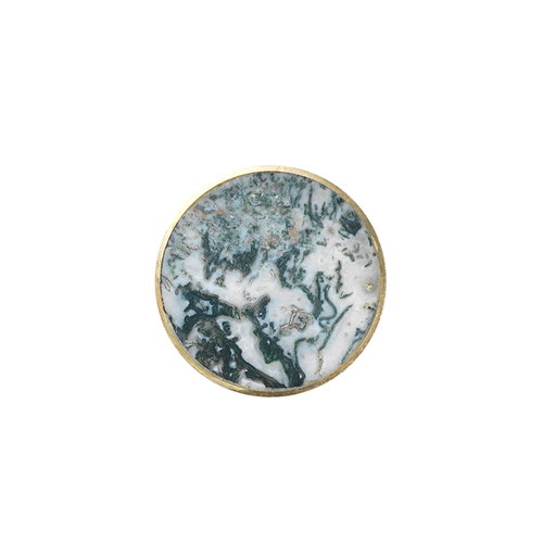 Ferm Living Hook Stone, agate moss, large