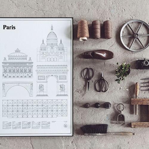 Studio Esinam Paris Elevations poster