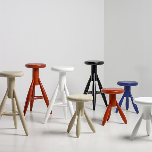 Artek Baby Rocket stool, jolly red