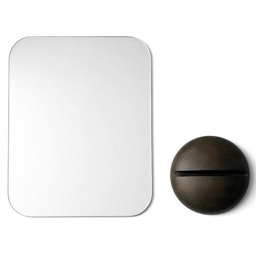 Menu Gridy Me mirror, dark oak