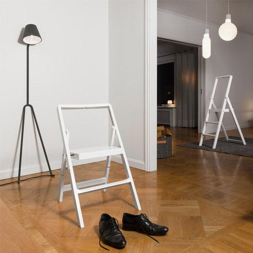 Design House Stockholm Step Mini stepladder, black