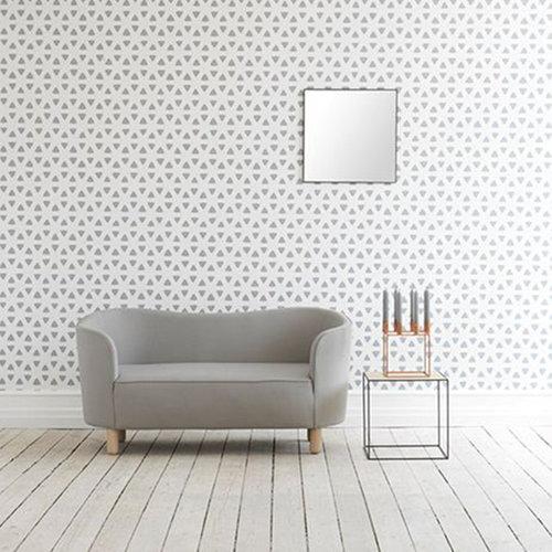 By Lassen Mingle sofa, Fame, grey - oak