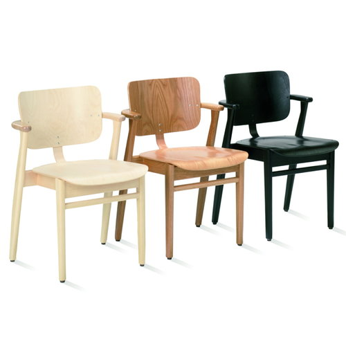 Artek Domus chair, lacquered birch