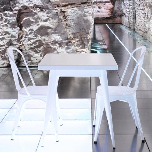 Tolix A chair, white