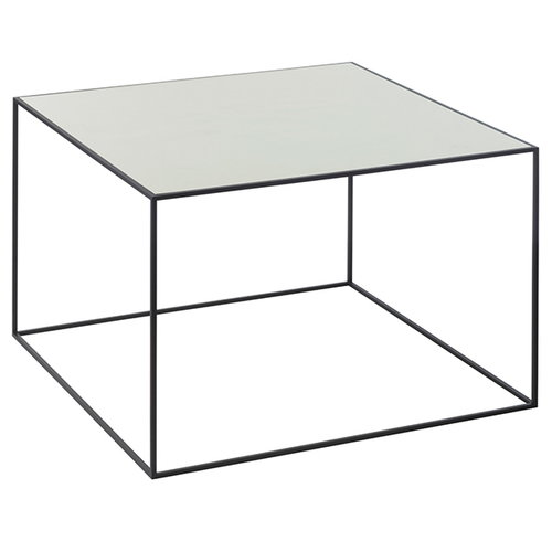 By Lassen Twin 49 table, brass/misty green