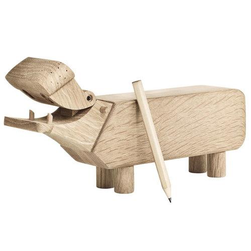 Kay Bojesen Ippopotamo di legno