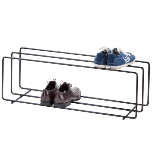 Showroom Finland Mixrack shoe rack L, black