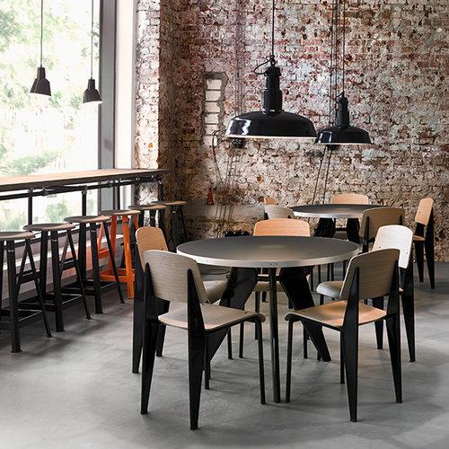 Vitra Standard SP tuoli, ecru - basalt