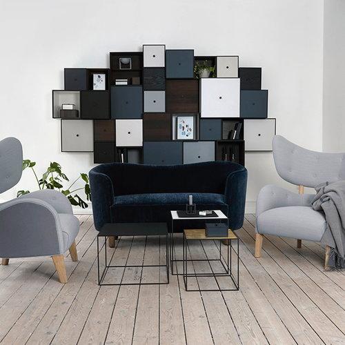By Lassen Mingle sohva, Marimba, sininen - �ljytty tammi