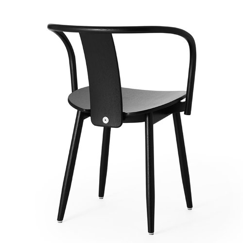 Massproductions Icha tuoli, mustaksi petsattu tammi