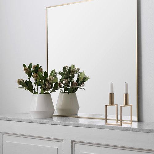 By Lassen Rimm vase, short, white
