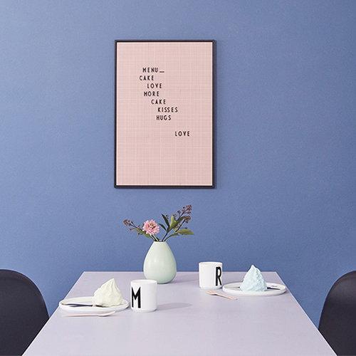 Design Letters Muistitaulu A2, pinkki