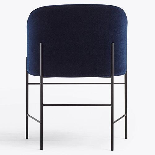 New Works Covent tuoli, tummansininen