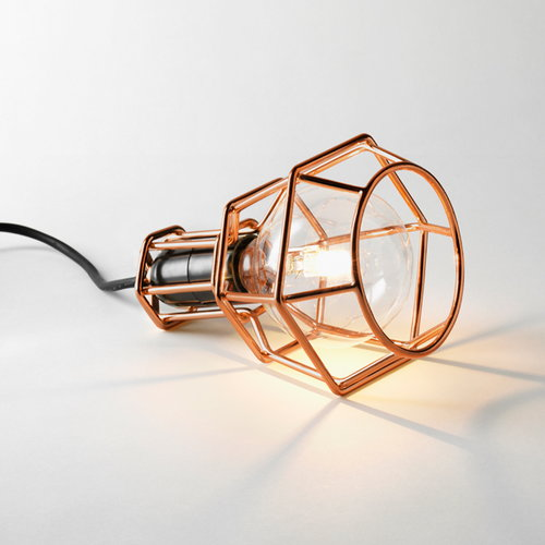 Design House Stockholm Work Lamp, copper