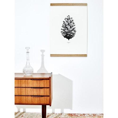 Paper Collective Nature 1:1 Pine Cone juliste, valkoinen