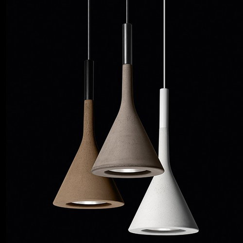 Foscarini Aplomb pendant lamp, white