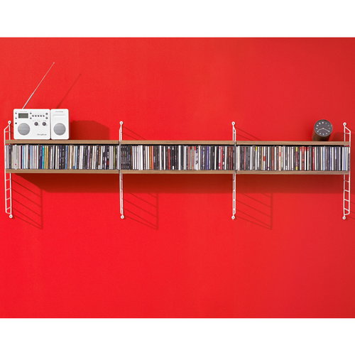 String String Pocket hylly, p�hkin�puu-valkoinen