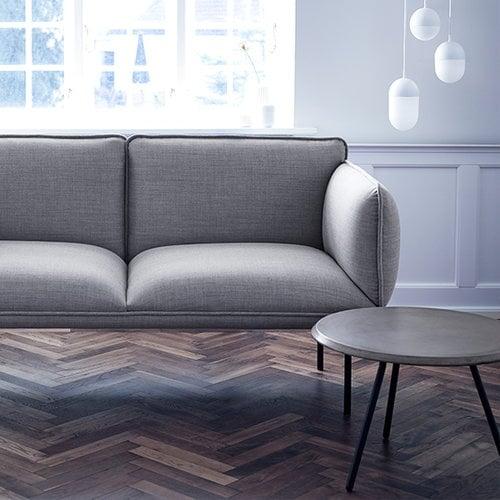Woud Soround sohvap�yt� betonikannella