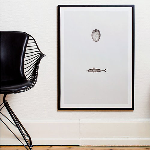 Paper Collective Swedish Mackerel poster