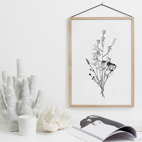 RK Design September Flowers #6 poster