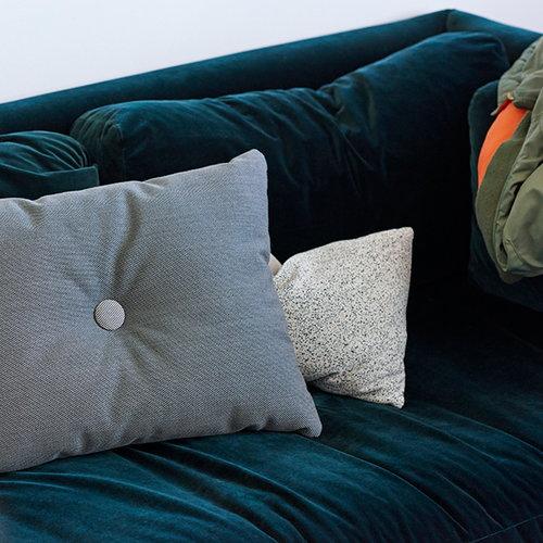 Hay Dot cushion, Steelcut Trio, dark grey