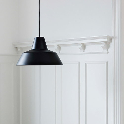 Made By Hand Workshop W4 pendant, matte black