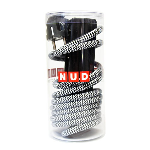 N.U.D. Collection Nud Extend 3-way extension cord, zick zack