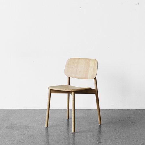 Hay Soft Edge tuoli, mattalakattu tammi