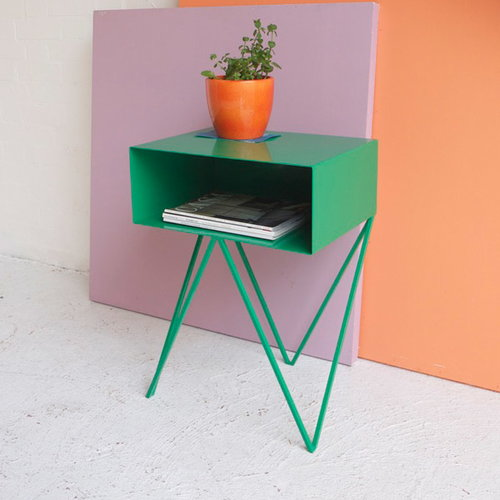 &New Robot side table, green