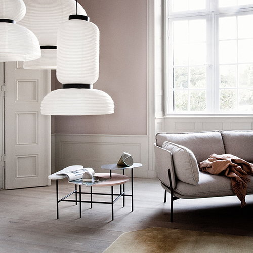 &Tradition Cloud three seater sofa, Hot Madison CH1249/495
