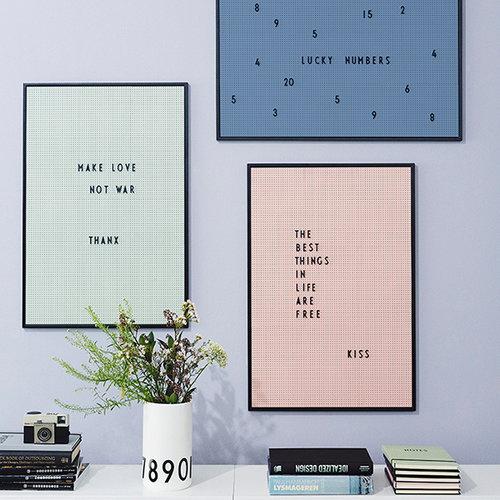 Design Letters Lettere per lavagna, nere
