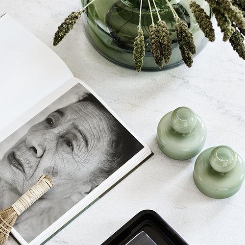 Marimekko Flower maljakko, oliivi