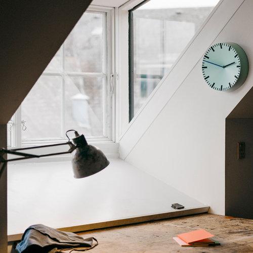 Hay Analog wall clock, mint green
