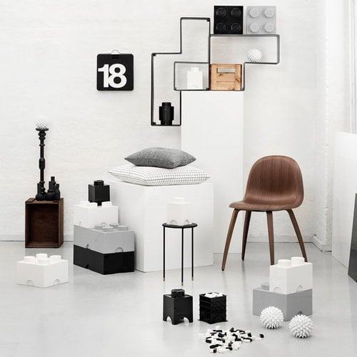 Room Copenhagen Contenitore Lego 8, bianco