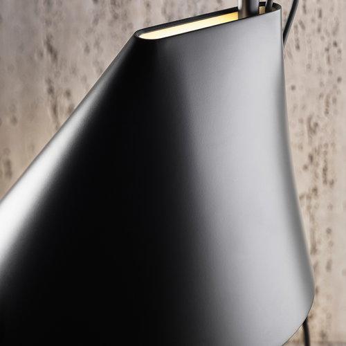 Louis Poulsen YUH lattiavalaisin LED, musta