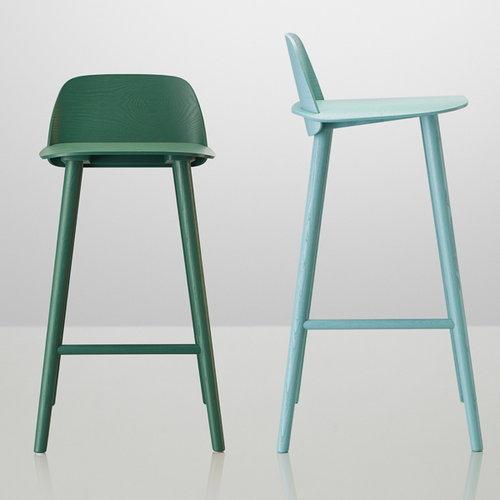 Muuto Nerd bar stool, low