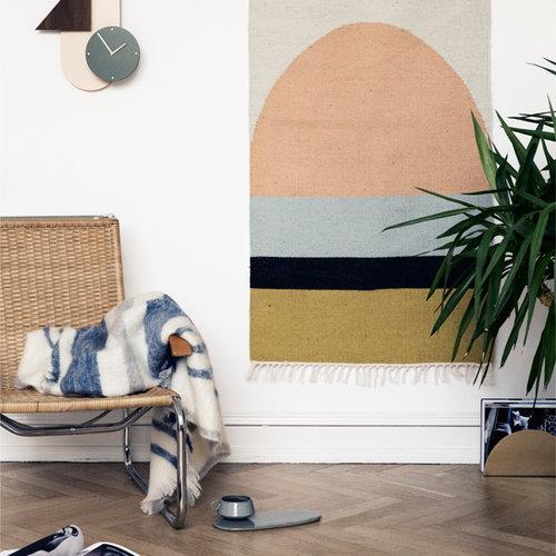 Ferm Living Kelim rug, Squares, small