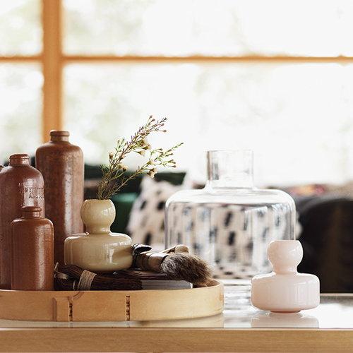 Marimekko Flower vase, fudge