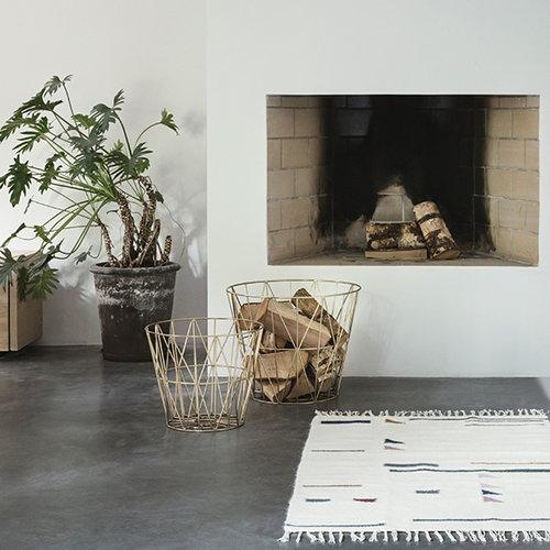 Ferm Living Kelim rug, Triangles, large