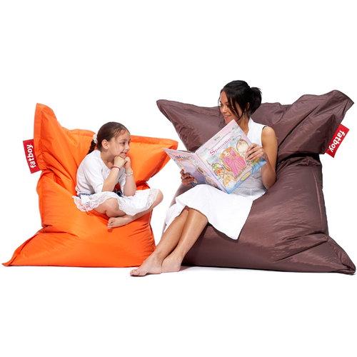 Fatboy poltrona sacco per bambini junior arancione - Sacco letto per bambini ...