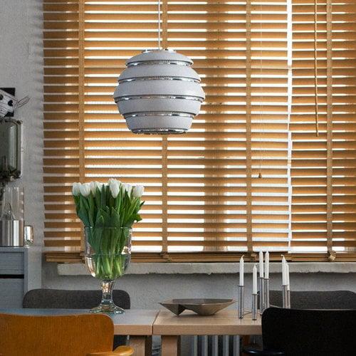 Artek Aalto Beehive ceiling lamp A331, chrome