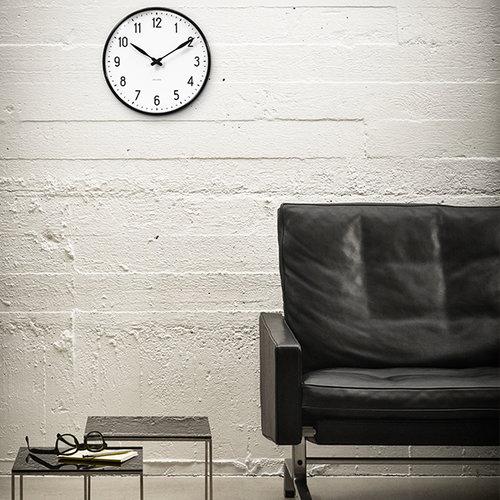 Arne Jacobsen AJ Station wall clock, 16 cm