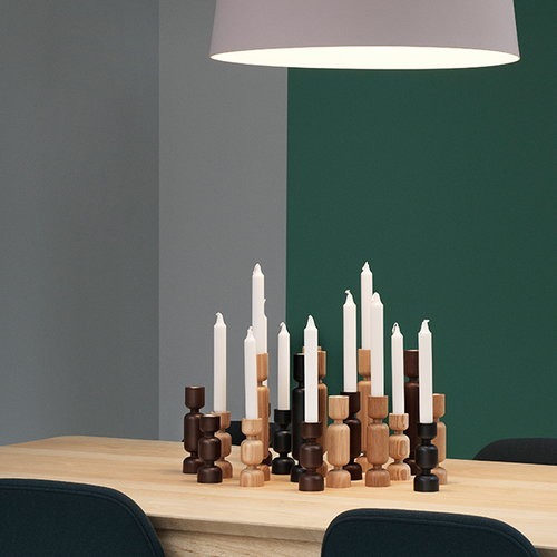 Normann Copenhagen Lumberjack kynttil�njalka, iso, musta