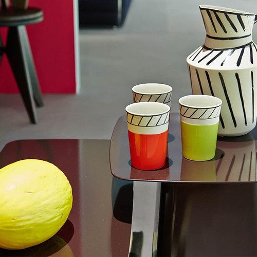 Vitra Metal Side Table, L, valkoinen