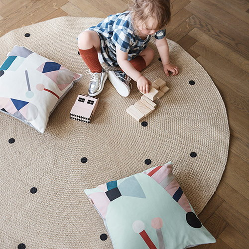 Ferm Living Party cushion, off-white