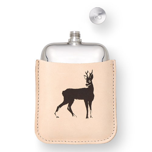Teemu J�rvi Illustrations Wilderness flask, Roe Deer