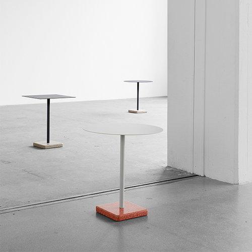 Hay Terrazzo table, 60 x 60 cm, grey