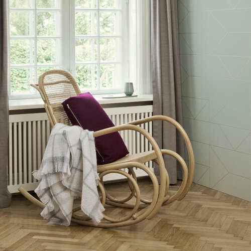 Ferm Living Lines tapetti, off-white