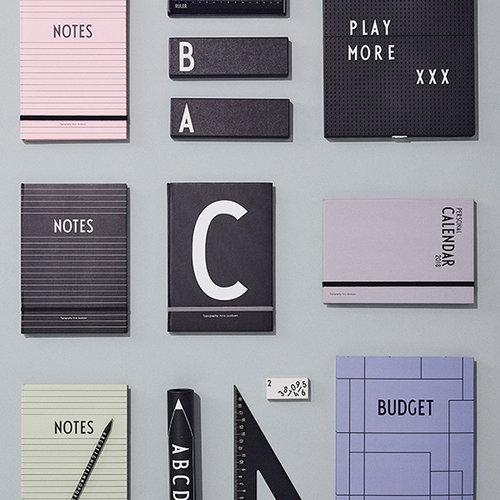 Design Letters Budget book