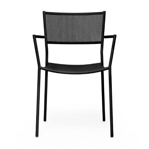 Massproductions Jig Mesh armchair, black